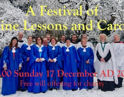 Festival of Nine Lessons and Carols in Holy Trinity Anglican Church