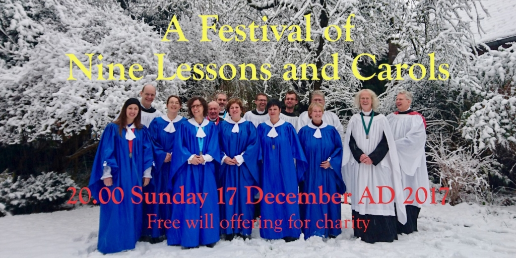 Festival of Nine Lessons and Carols in Holy Trinity AnglicanChurch